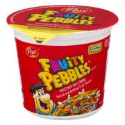 Post Fruity Pebbles Single Serve Cereal Cup