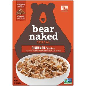 Bare Naked Cinnamon Clusters Cereal
