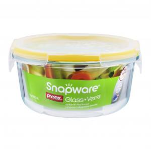 Pyrex Round Snapware Glass Four Cup Container