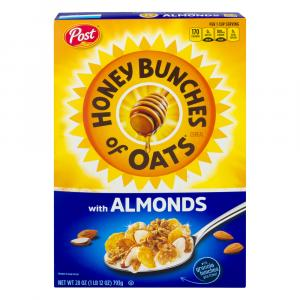Post Honey Bunches of Oats with Almonds Cereal Value Size