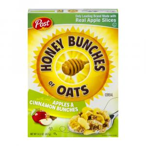 Post Honey Bunches Of Oats Apple & Cinnamon Bunches