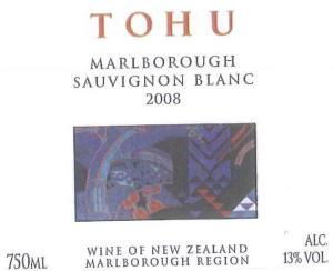Tohu Sauvignon Blanc