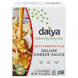 Daiya Zesty Cheddar Style Deluxe Cheeze Sauce