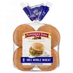 Pepperidge Farm Whole Wheat Hamburger Rolls