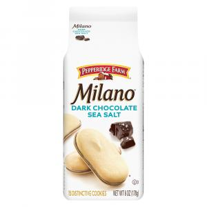 Pepperidge Farm Milano Dark Chocolate Sea Salt Cookies