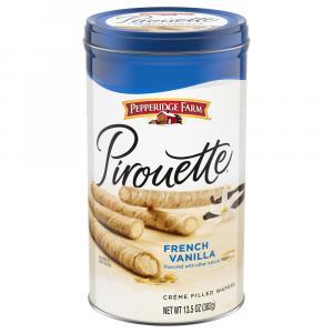 Pepperidge Farm French Vanilla Pirouette Cookies