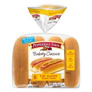 Pepperidge Farm Top Sliced Golden Potato Hot Dog Buns