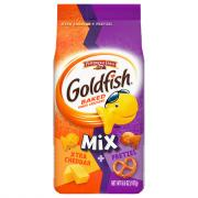 Pepperidge Farm Goldfish Mix Xtra Cheddar + Pretzel