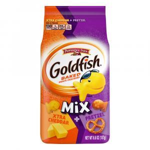 Pepperidge Farm Goldfish Mix Xtra Cheddar + Pretzel