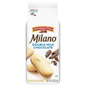 Pepperidge Farm Milano Double Milk Chocolate Cookies