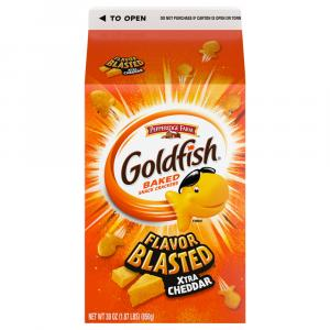 Pepperidge Farm Goldfish Flavor Blasted Xtra Cheddar Cracker