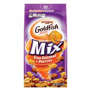 Pepperidge Farm GoldFish Mix-Up Xtra Cheddar + Pretzel