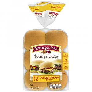 Pepperidge Farm Golden Potato Sliders Buns