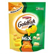 Pepperidge Farm Goldfish Mix Cheddar,Pretzel,Zesty Cheddar