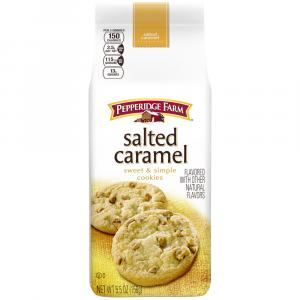 Pepperidge Farm sweet & Simple Salted Caramel Cookies