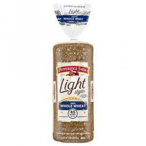 Pepperidge Farm Light Style 100% Whole Wheat Bread