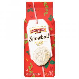 Pepperidge Farm Snowball Homestyle Cookies