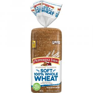 Pepperidge Farm Harvest Classic Soft 100% Whole Wheat