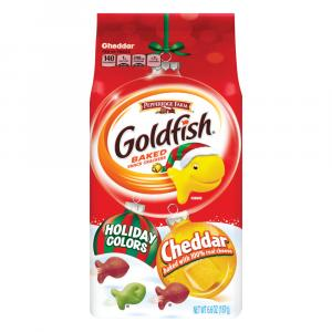 Pepperidge Farm Red and Green Holiday Goldfish Bag