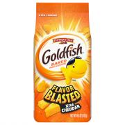 Pepperidge Farm Goldfish Flavor Blasted Crackers Bag