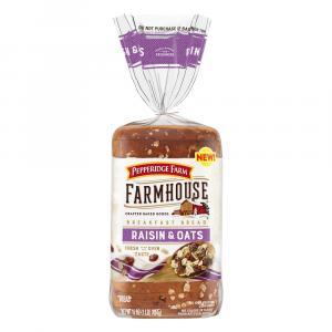 Pepperidge Farm Farmhouse Raisin & Oats Breakfast Bread
