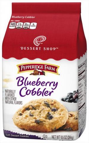 Pepperidge Farm Blue Berry Cobbler Cookies