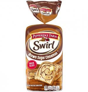 Pepperidge Farm Brown Sugar Swirl Bread