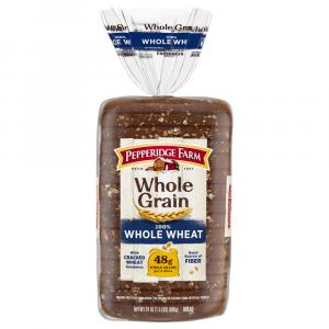 Pepperidge Farm Whole Grain 100% Whole Wheat Bread