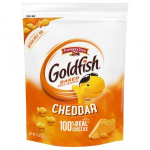 Pepperidge Farm Cheddar Goldfish Resealable Bag