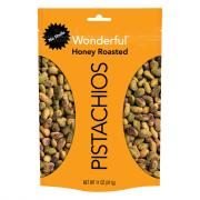 Wonderful No Shells Honey Roasted Pistachios