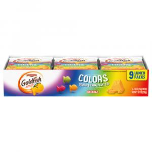 Pepperidge Farm Goldfish Cheddar Colors Crackers