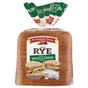 Pepperidge Farm Whole Grain Seeded Jewish Rye Bread