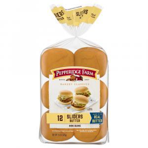 Pepperidge Farms Bakery Classics Butter Sliders