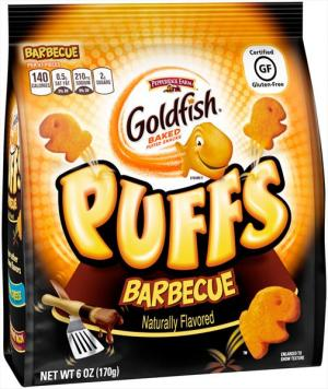 Pepperidge Farm Goldfish Barbeque Puff
