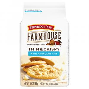 Pepperidge Farm Thin & Crispy White Chocolate Chip Cookies
