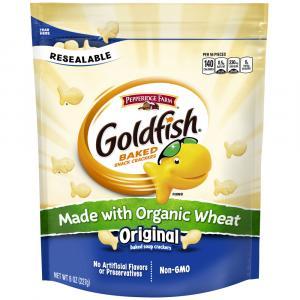 Pepperidge Farm GoldFish Crackers Made with Organic Wheat