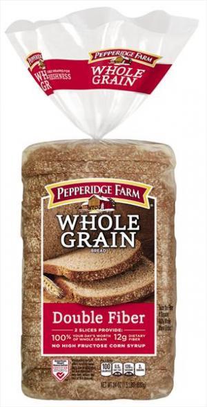 Pepperidge Farm Natural Whole Grain Double Fiber Bread