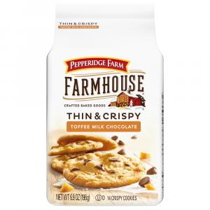 Pepperidge Farm Farmhouse Thin & Crispy Toffee
