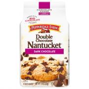 Pepperidge Farm Double Chocolate Nantucket Crispy Cookies