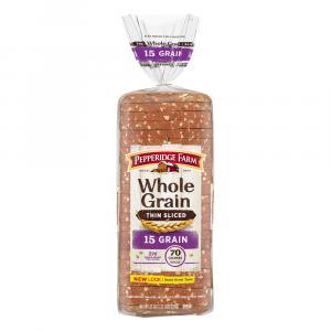 Pepperidge Farms Whole Grain Thin Sliced 15 Grain
