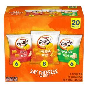 Goldfish Say Cheeeese Variety Pack