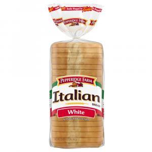 Pepperidge Farm White Seedless Italian Bread