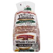 Pepperidge Farm Whole Grain Thin Sliced Oatmeal Bread