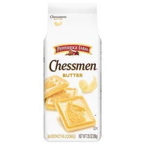 Pepperidge Farm Butter Chessmen Bag Cookies
