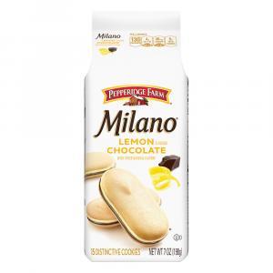 Pepperidge Farm Milano Lemon Flavored Chocolate Cookies