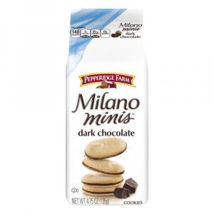 Pepperidge Farm Milano Dark Chocolate Minis