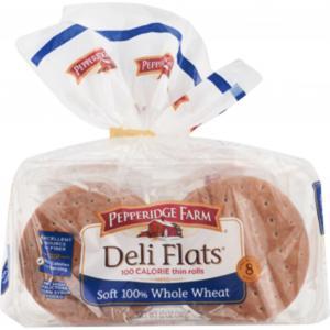Pepperidge Farm Deli Flats Soft 100% Whole Wheat