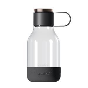 Asobu Tritan Dog Bowl & Water Bottle Lite Black