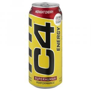 C4 Energy Zero Sugar Midnight Cherry Drink