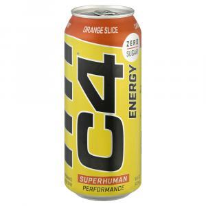 C4 Energy Zero Sugar Orange Slice Drink